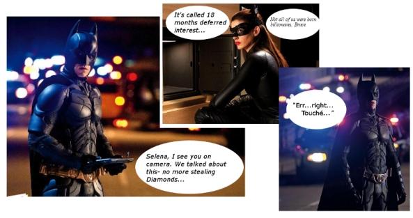 Batman The Dark Knight and Catwoman